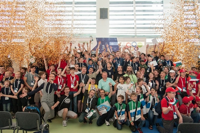 The winners of the Russian Robot Olympiad are announced