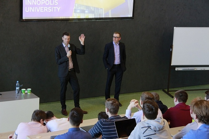 "Oliver Hughes, CEO of Tinkoff Bank: ""I see students of Innopolis University as employees of Tinkoff Bank branch at the IT city"""