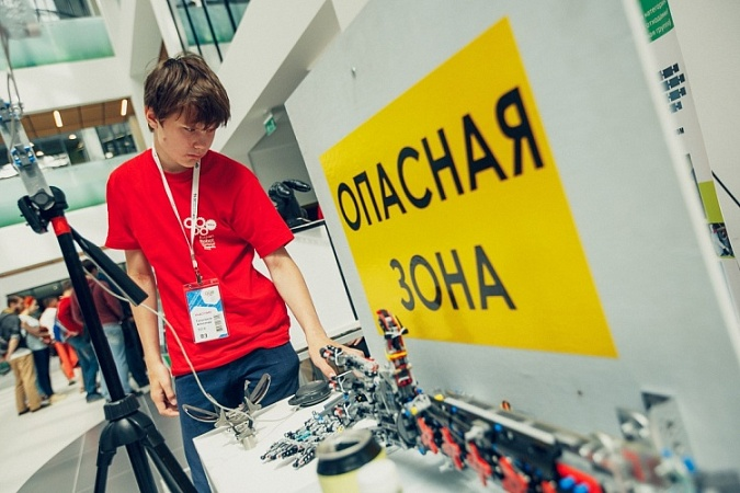 Selection of Russian Projects for the Open Category of the World Robot Olympiad started