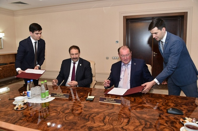 Aeroflot and the Government of the Republic of Tatarstan signed an agreement on IT developments on the basis of Innopolis University