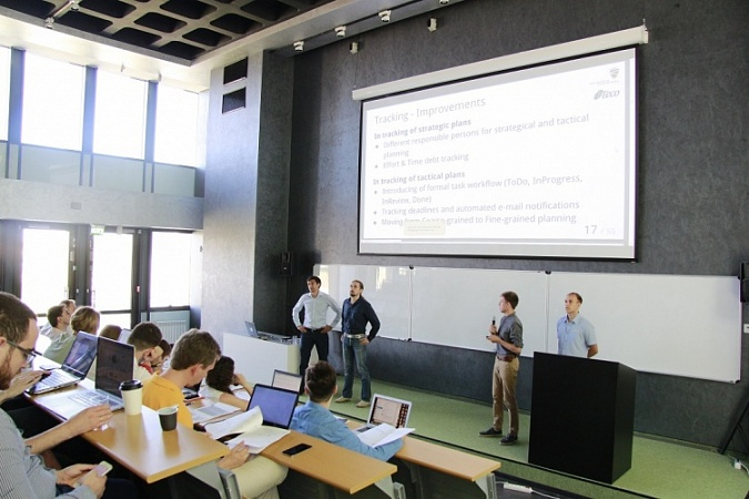 Master's degree students of Innopolis University provided solutions for Russian IT companies