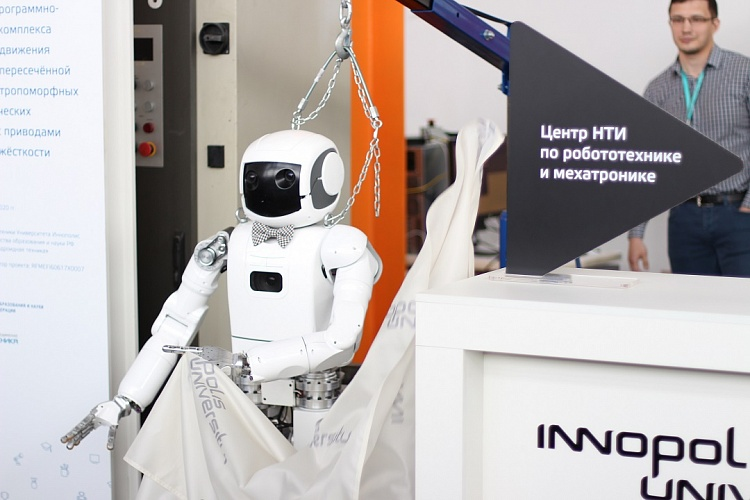 Innopolis University opened the National Competence Center of the National Technological Initiative in the Field of Robotics and Mechatronics