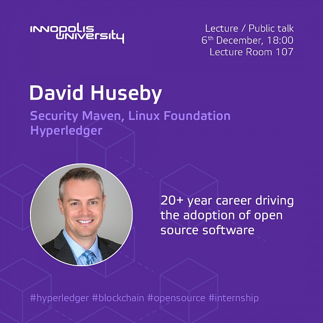 Public lecture by David Huseby, Linux Foundation Hyperledger