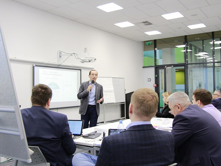 Employees of RusHydro, Beeline and Megafon learned how to manage changes in the company, introduce Artificial Intelligence into business processes and develop more effective software.